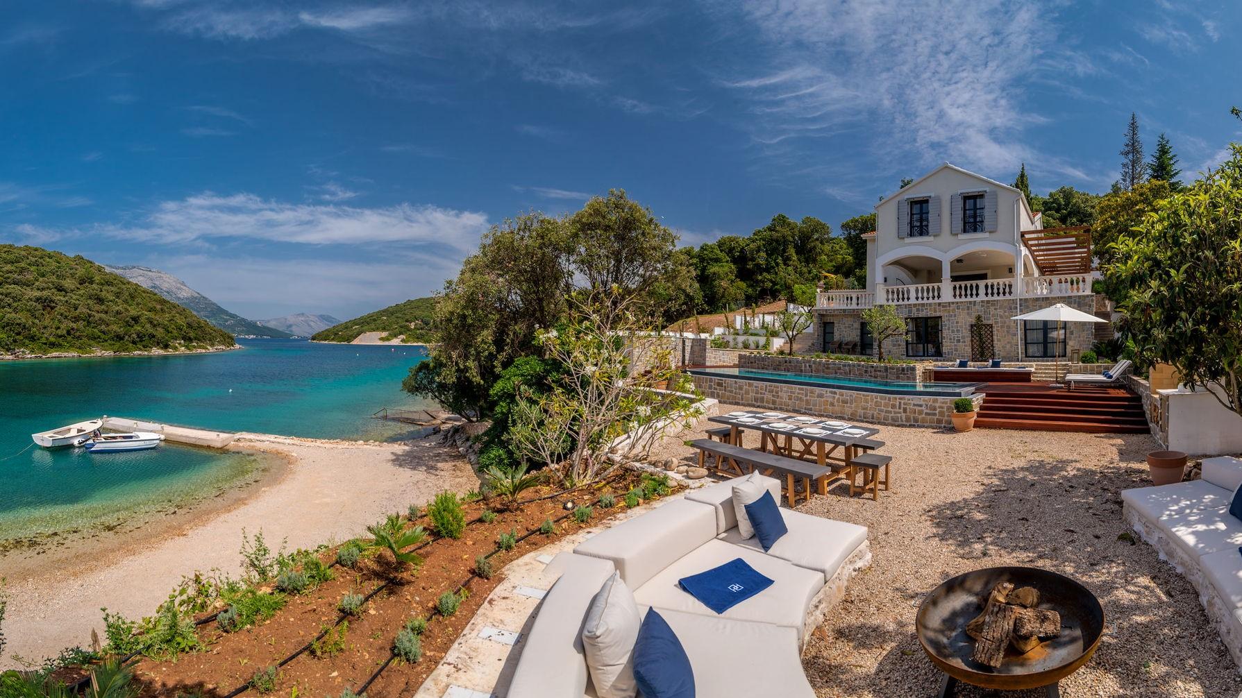 Beachfront Villa Feodora Grande on Korcula