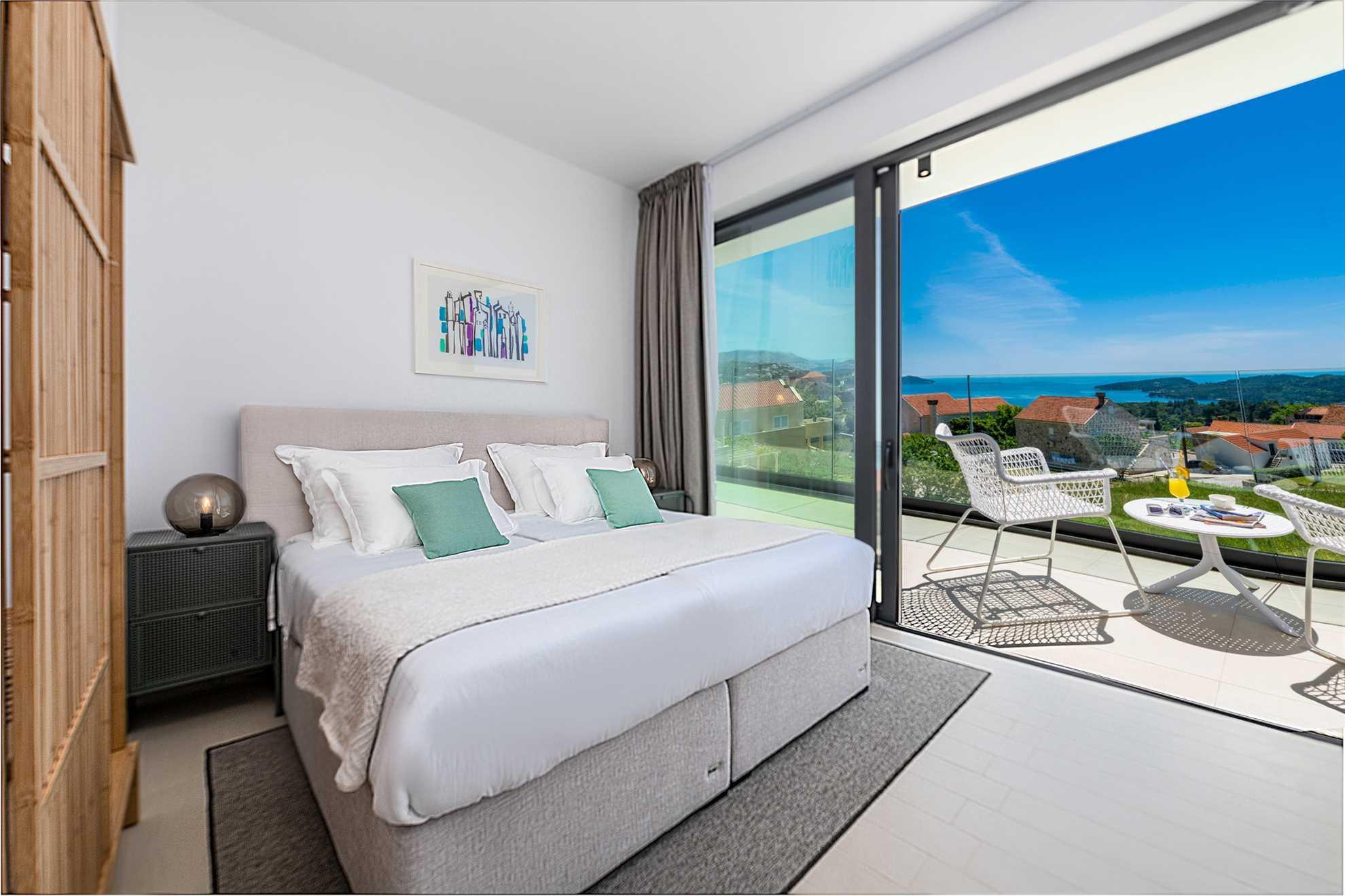Villa Inner Peace Dubrovnik Bedroom View