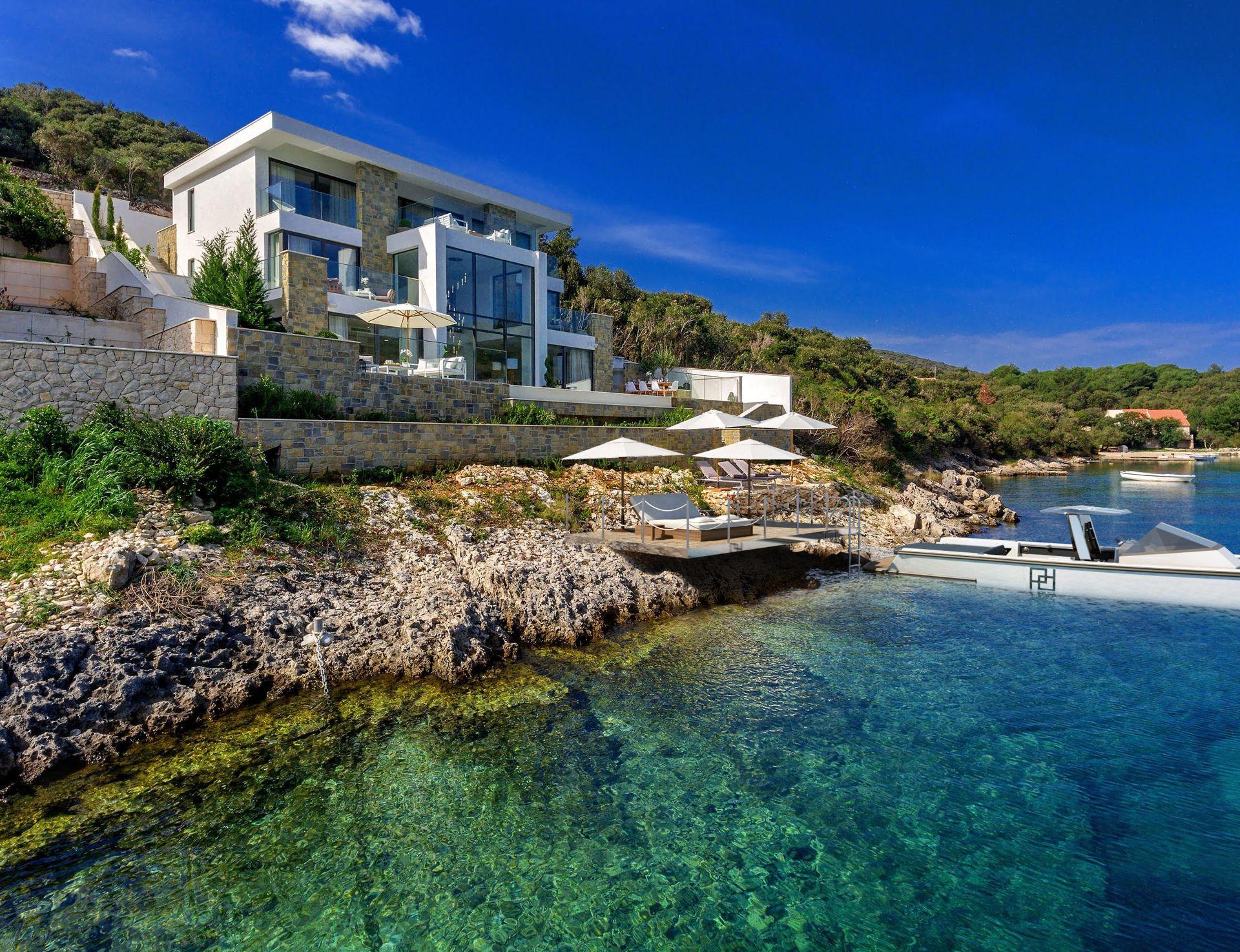 Beachfront Villa Korcula Supreme