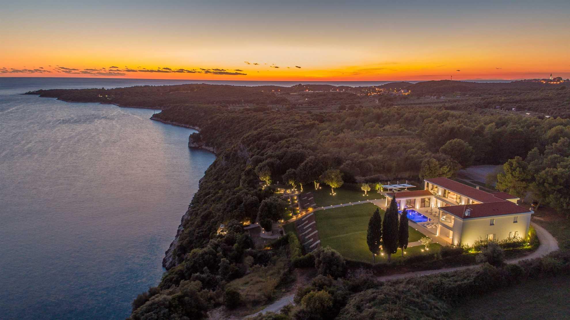 Holiday Villa Bellisima in Istria