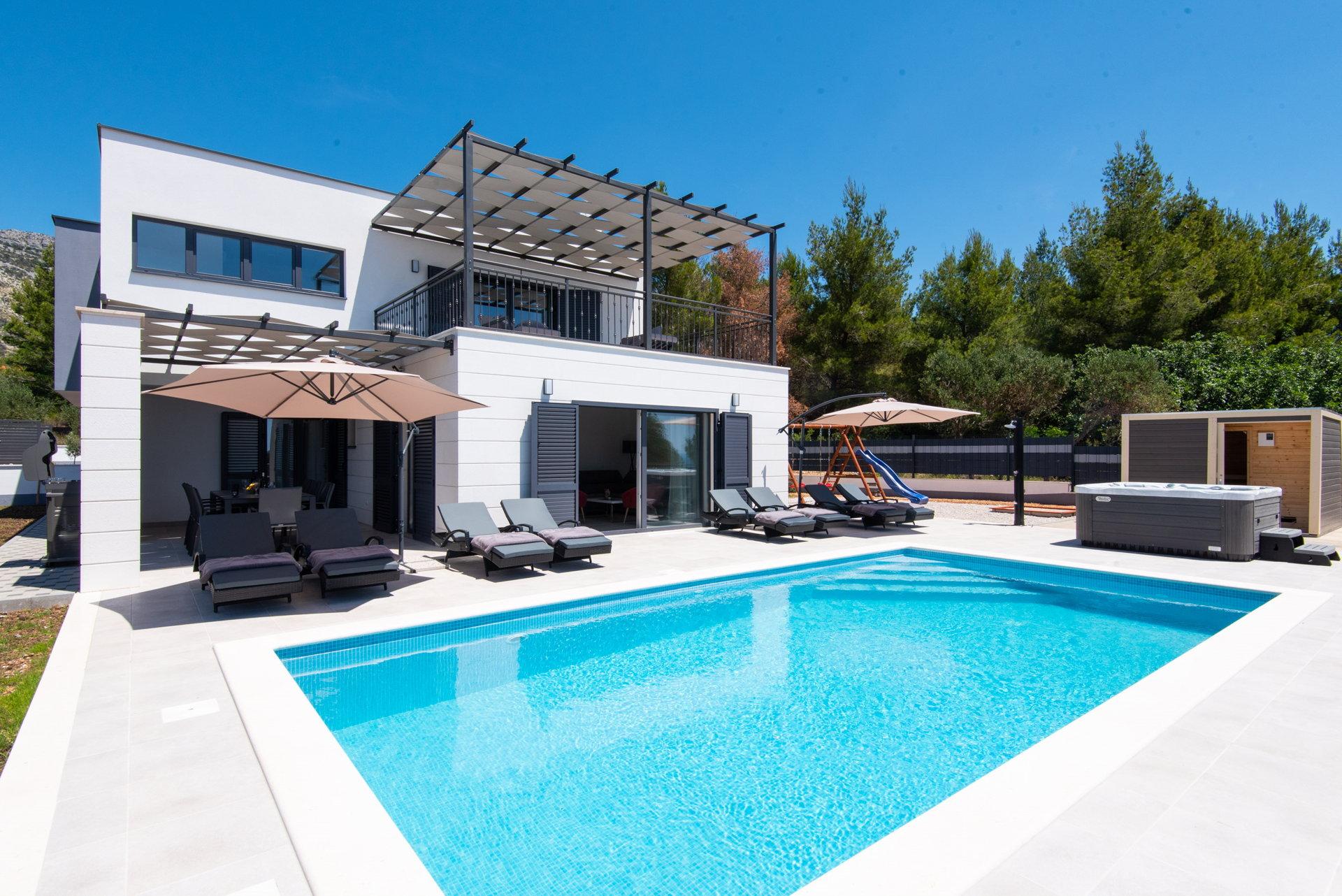Villa Luxe på Peljesac