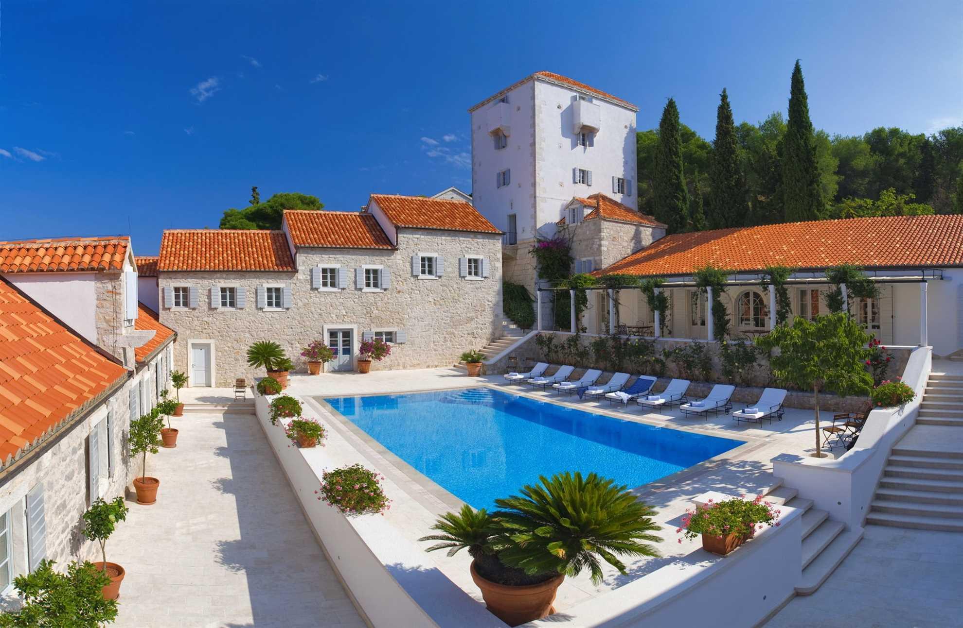 Villa M & M auf Solta perfekt für Hochzeiten