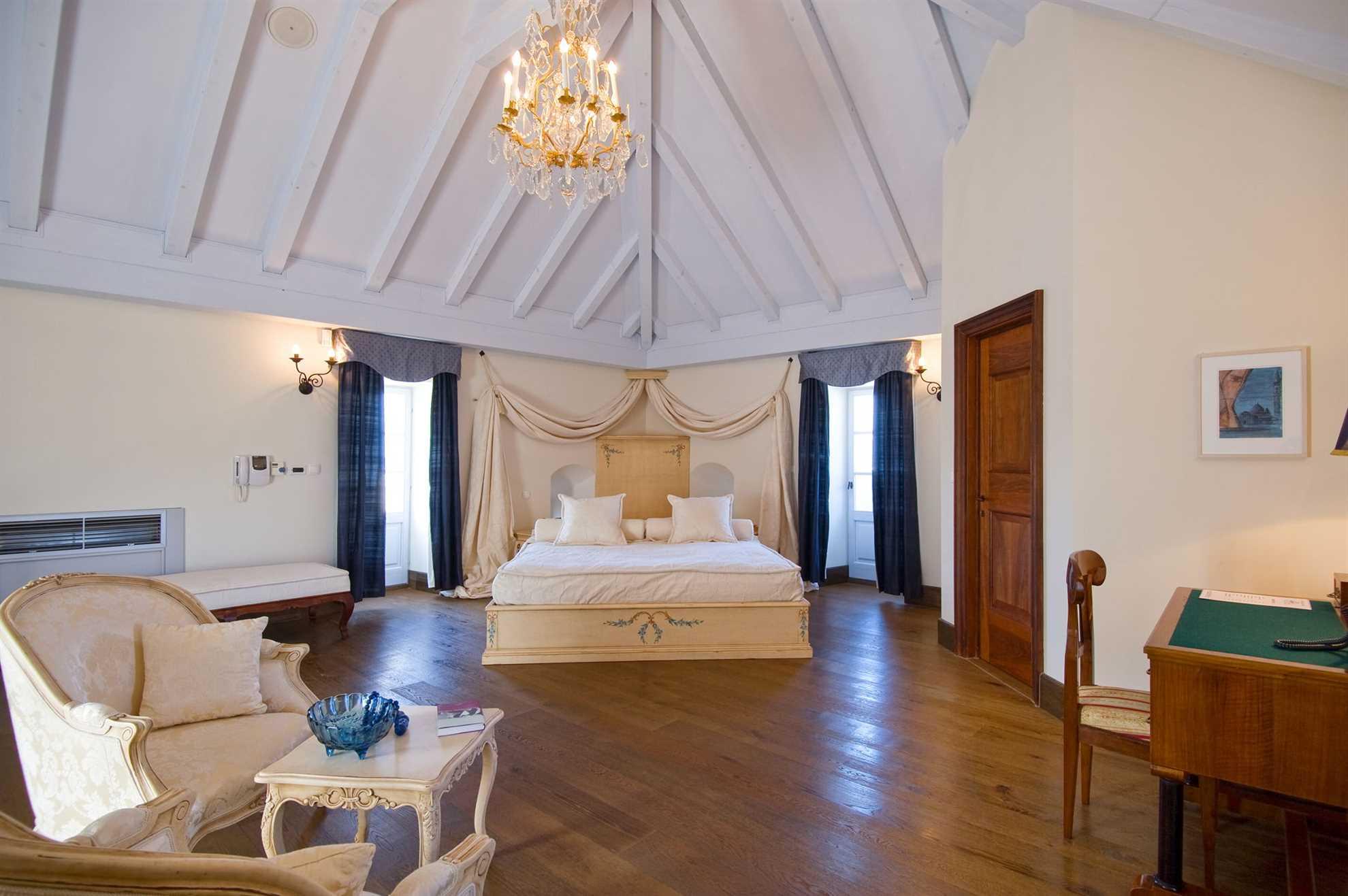 Interior of heritage Villa M&M Solta