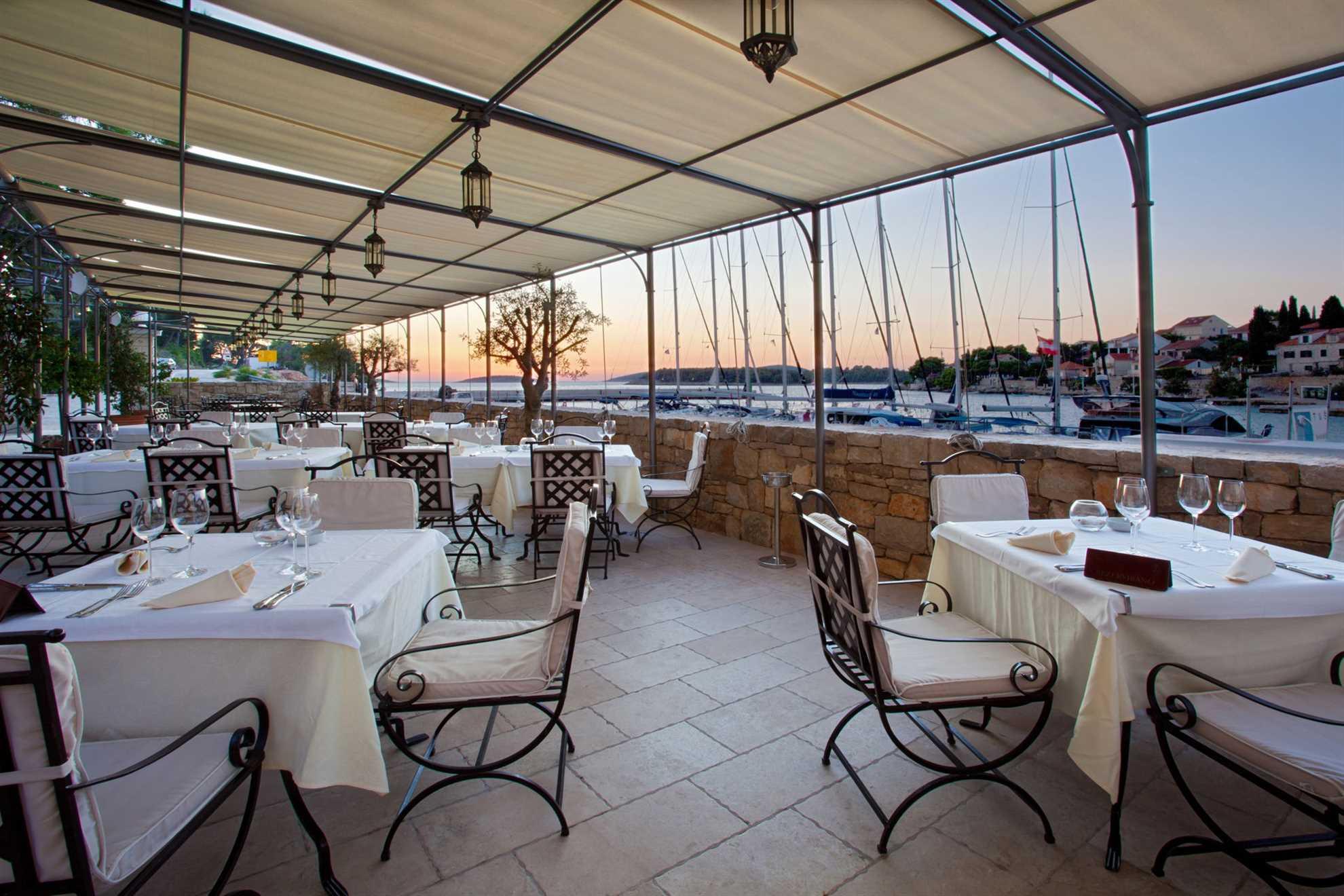 Fine dining restaurant on Solta