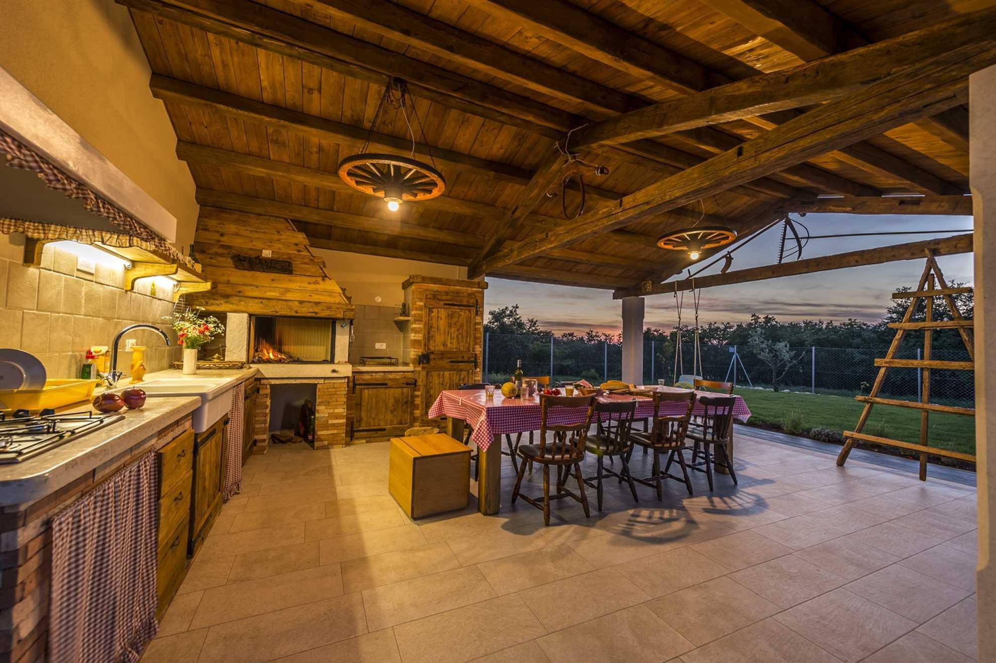 Summer Kitchen Villa Manuella Umag