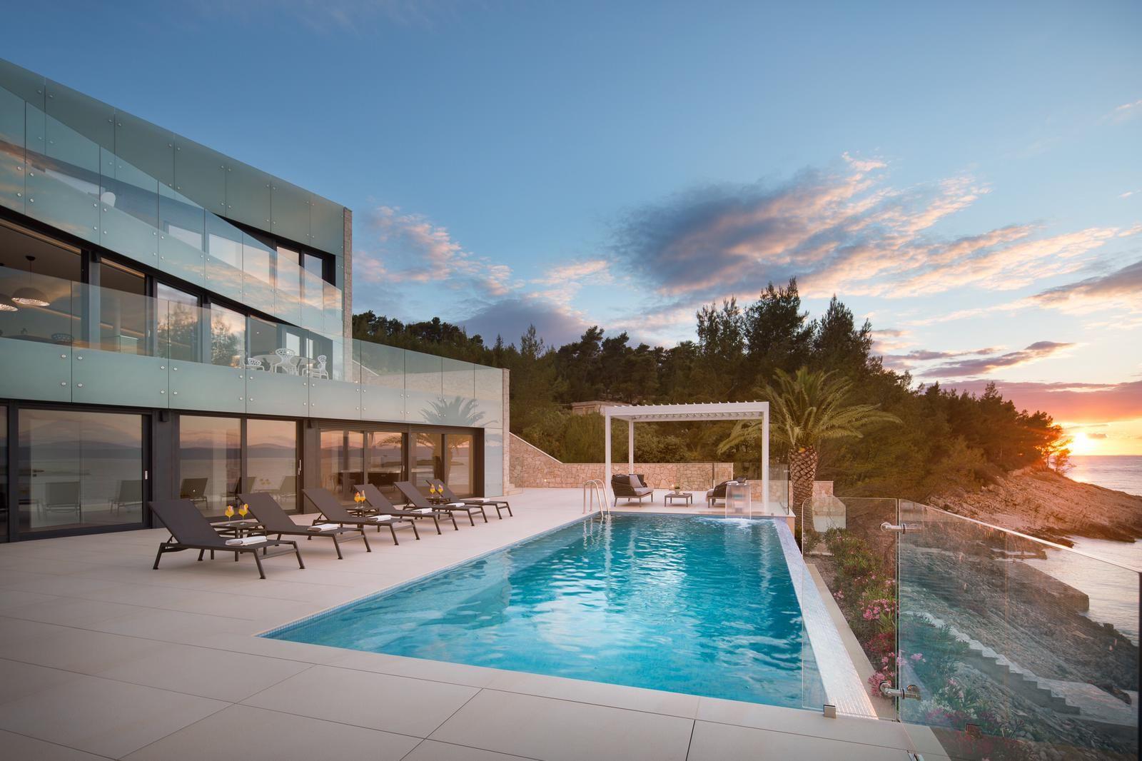 Luxury Villa Palma de Korkyra on Korcula