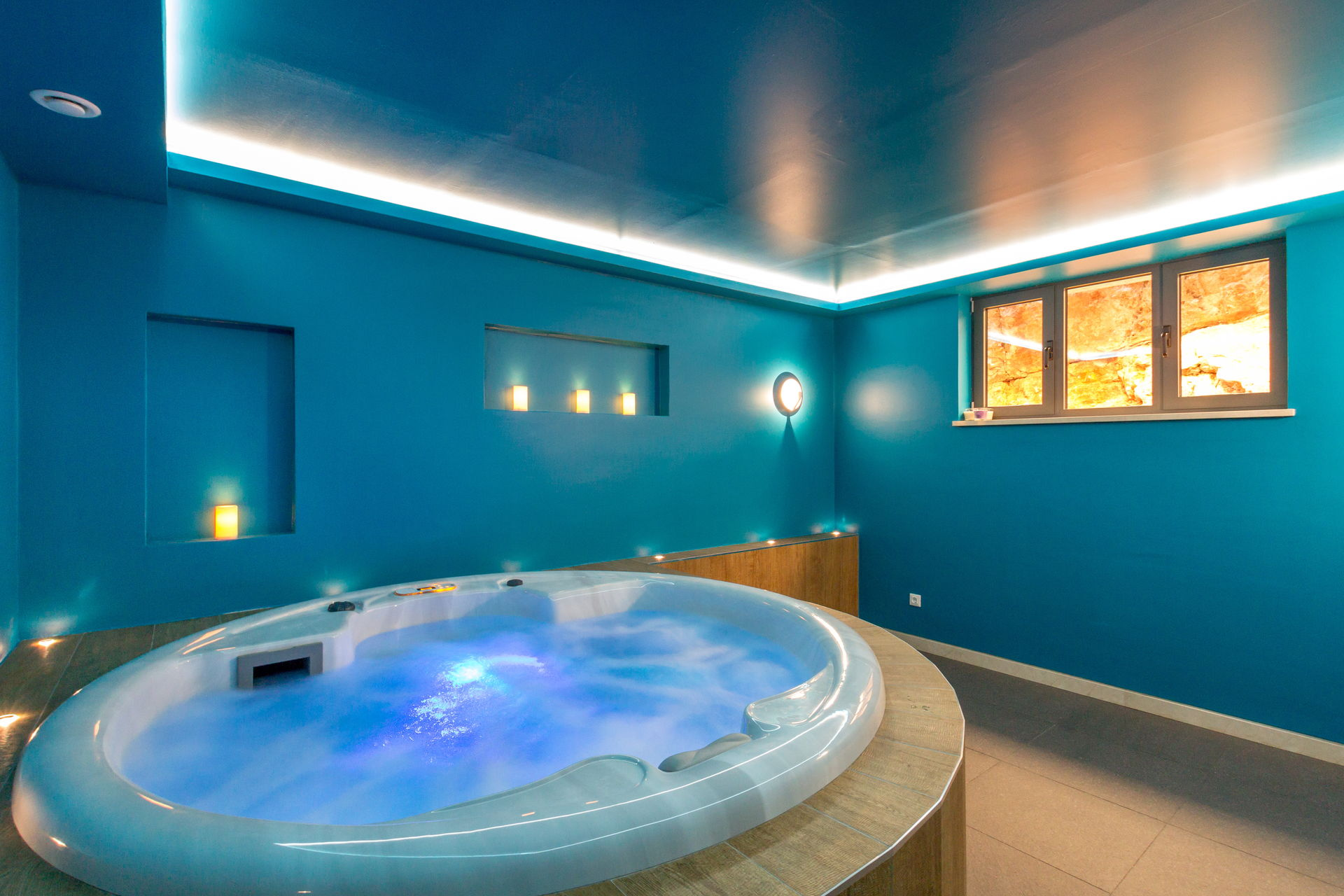 Jacuzzi room in Luxury Villa Pearl of Hvar with Swimming Pool