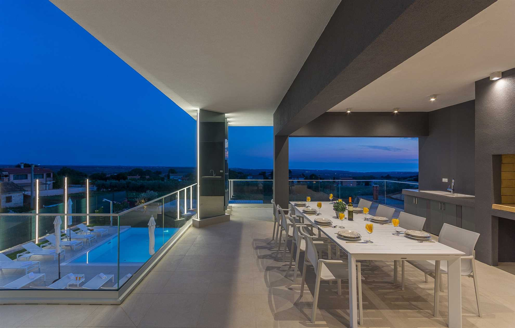 Terrace with outdoor dining