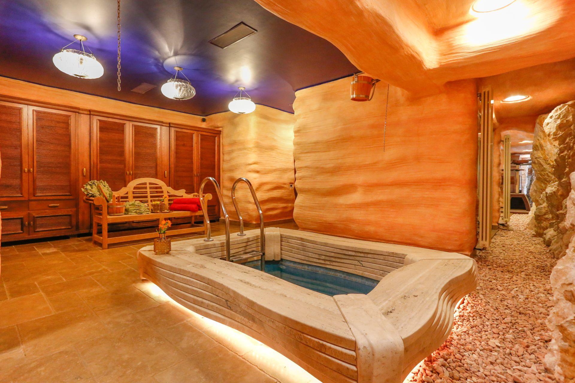 Sauna in Villa Tragurium Prestige Trogir
