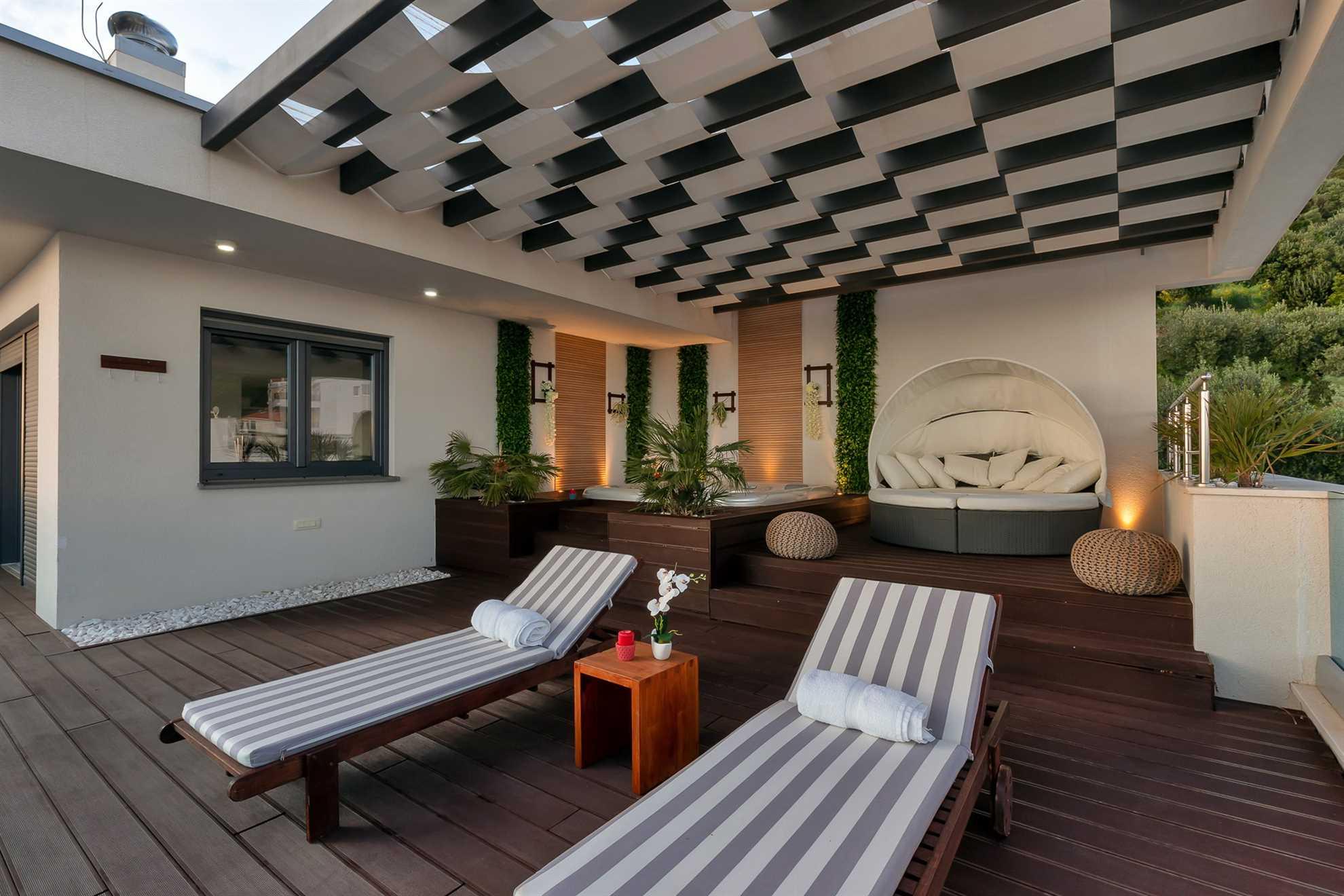Villa Vision Makarska Lounge Area