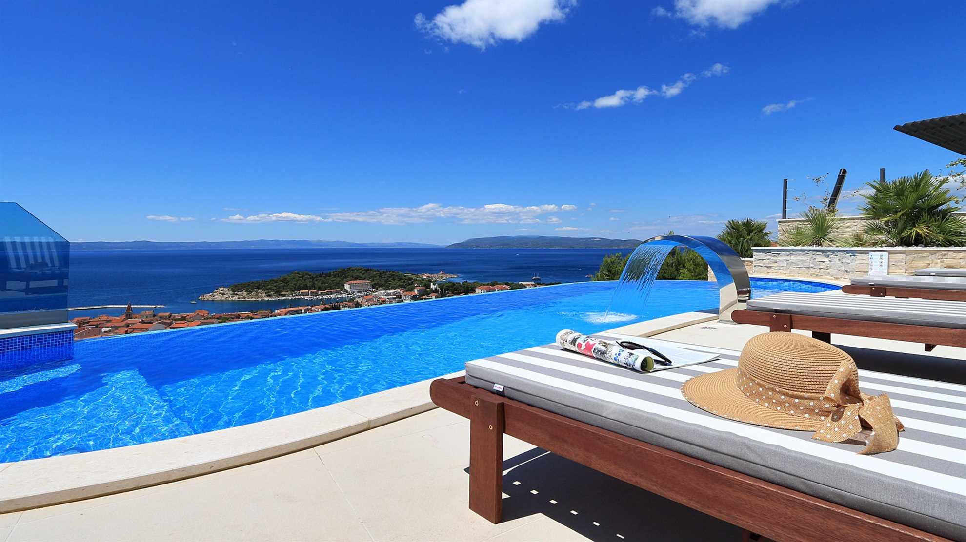 Villa Vision Makarska View Pool