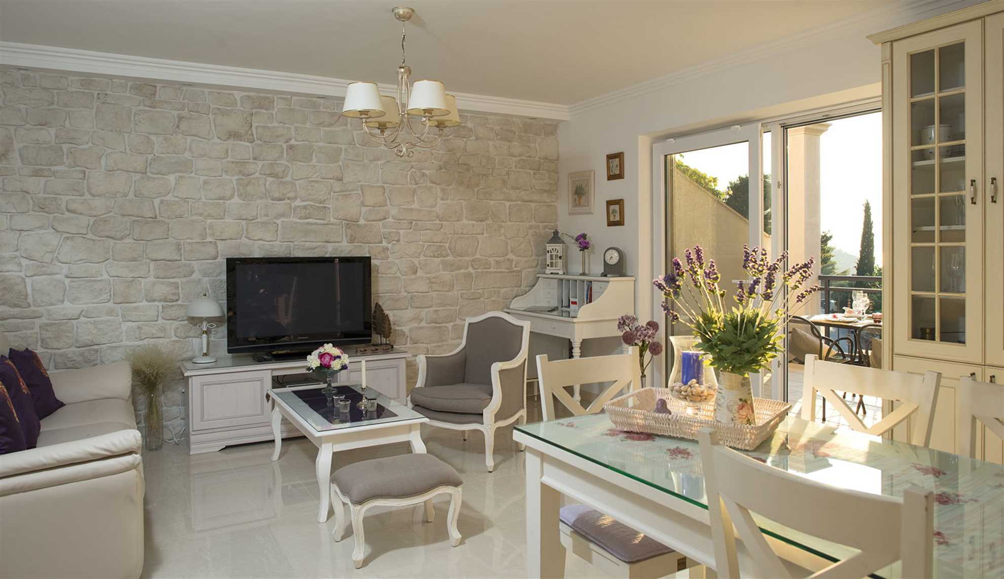 Interior of the Villa White Jade Dubrovnik