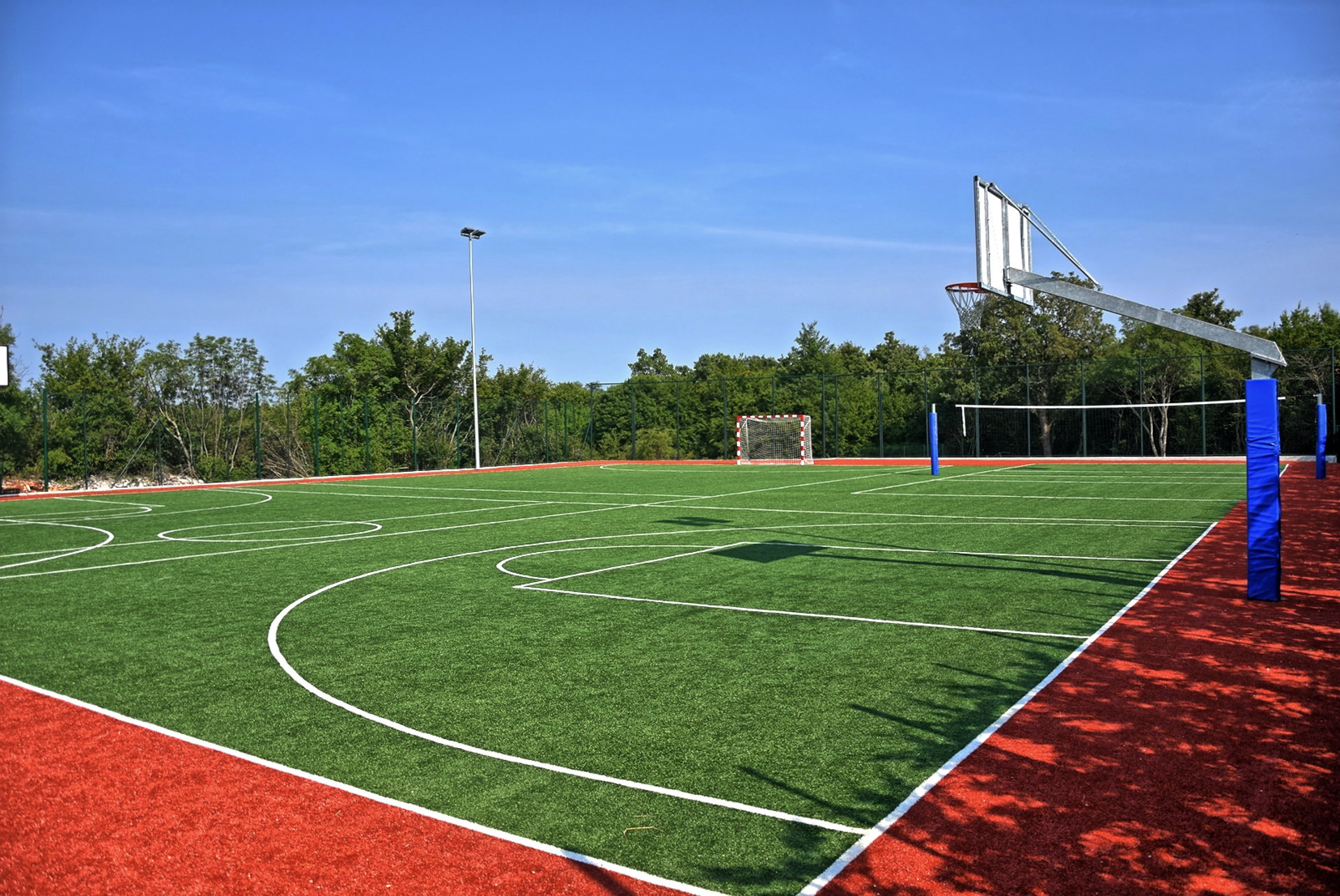 Sports fields in Villas Istria