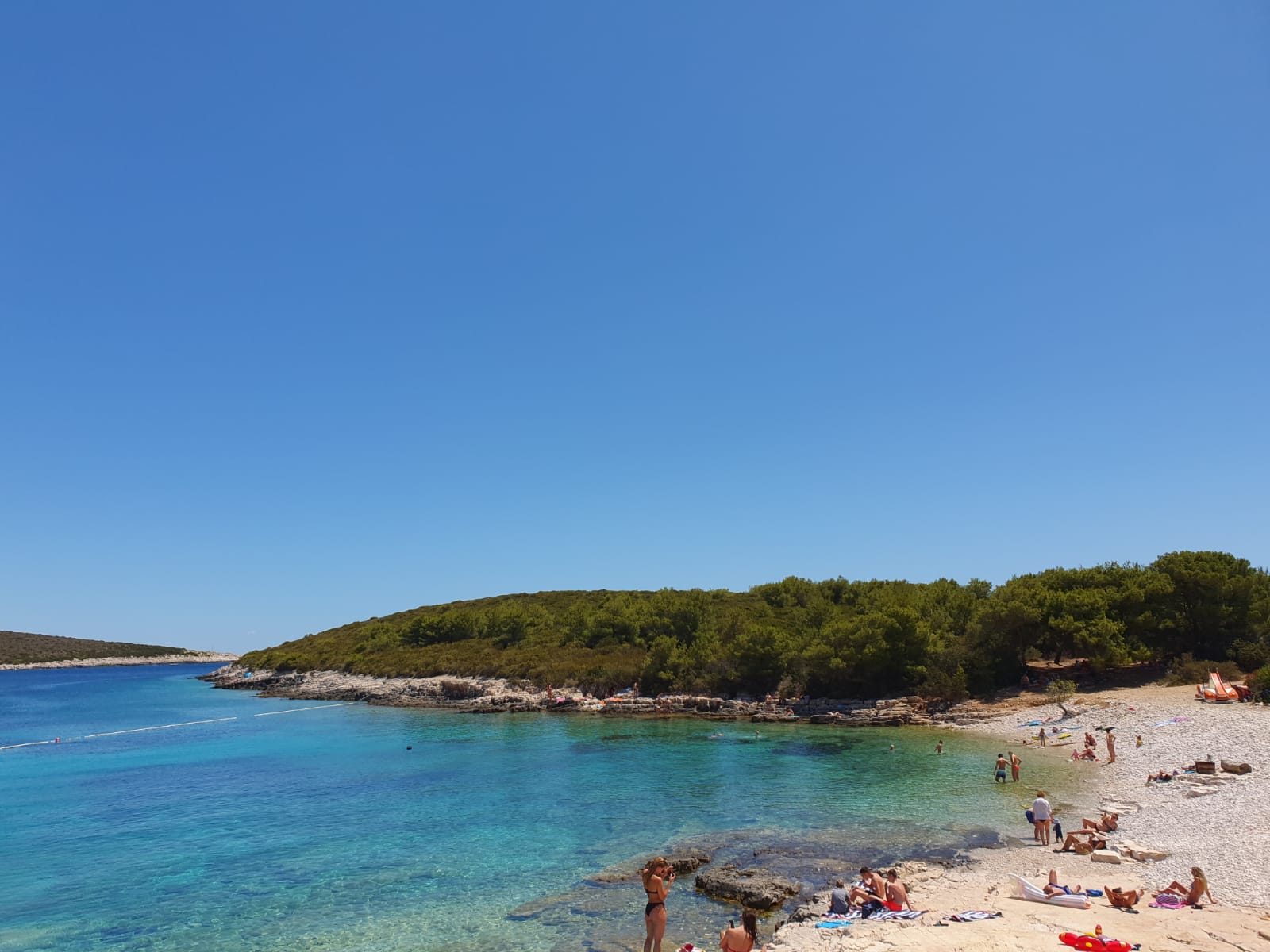Beach Porat on Bisevo Island