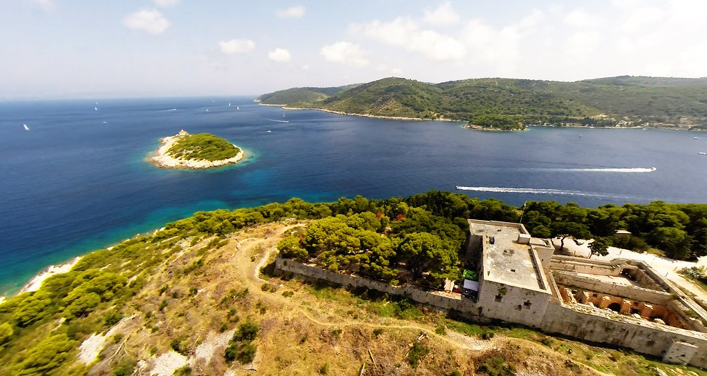 Fort George on Vis Island