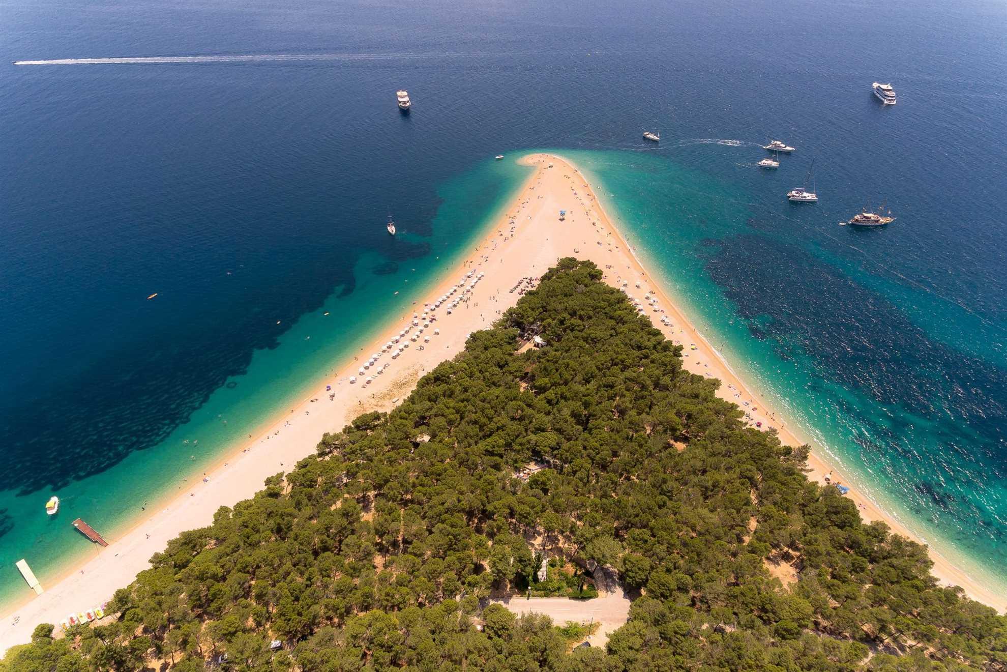 Golden Cape Beach Croatia