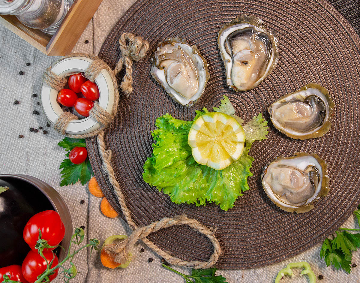 Oysters from Peljesac
