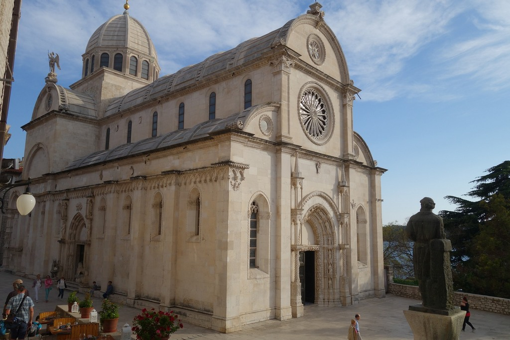Sibenik Cathedral of Saint James with dome