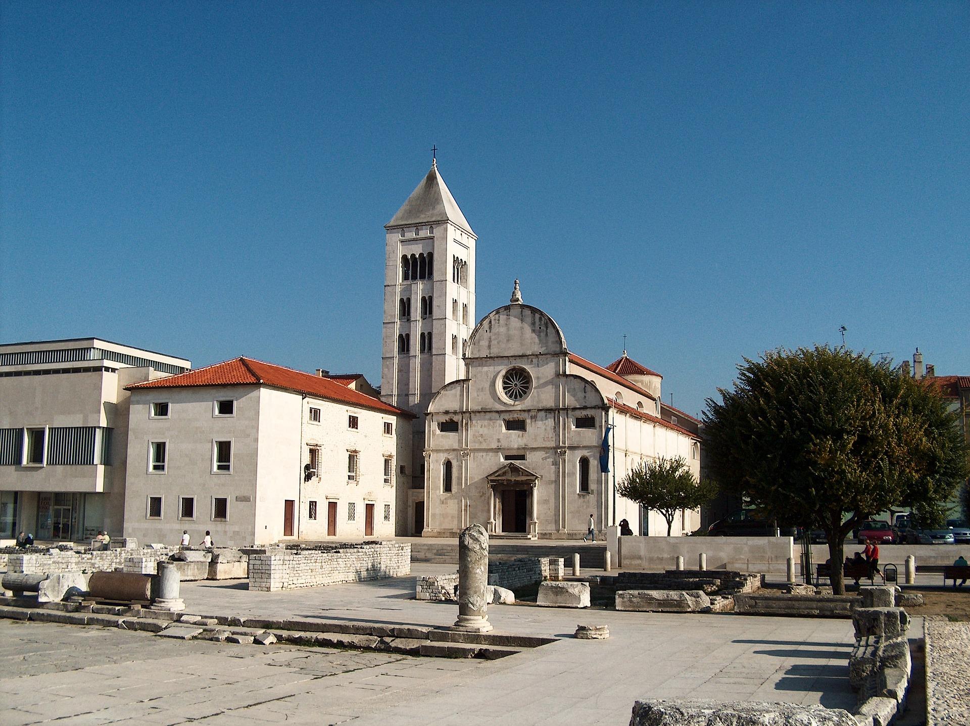 St. Mary`s Church and monastery, Zadar