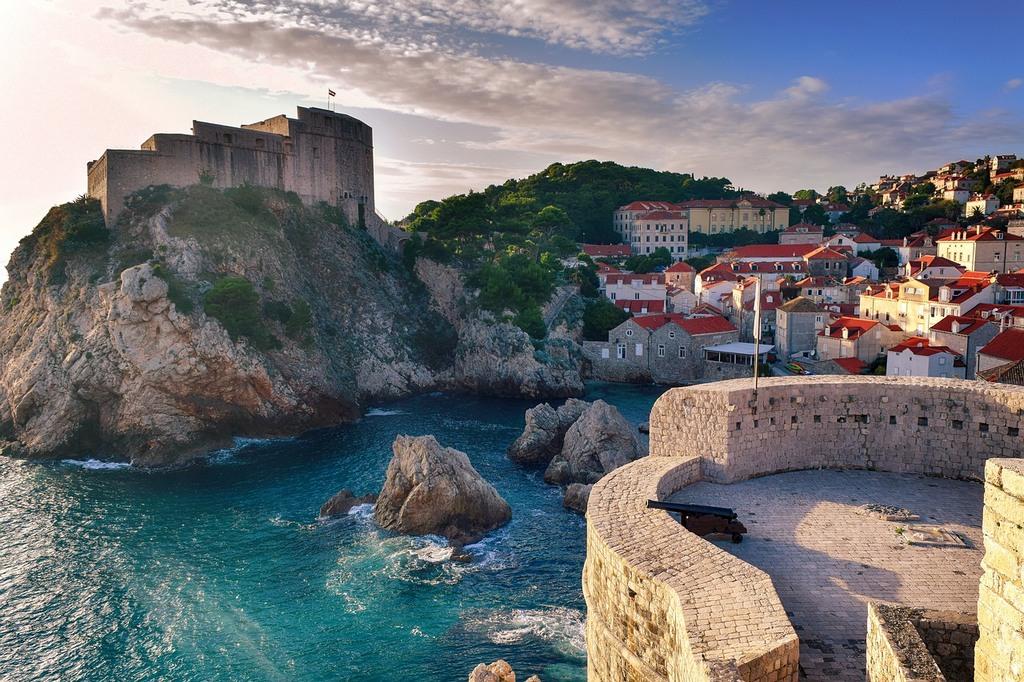Lovrijenac Fortress in Dubrovnik