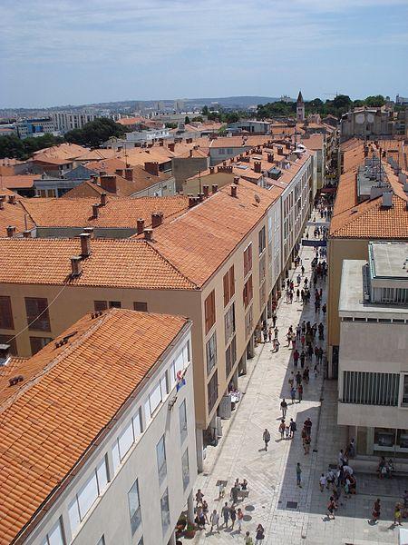 Kalelarga, Zadar