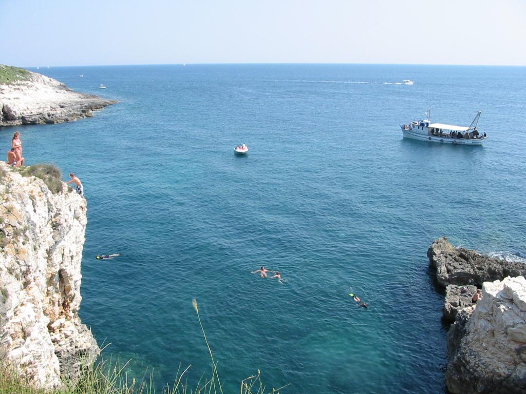 Cape Kamenjak – swimming after a bike tour