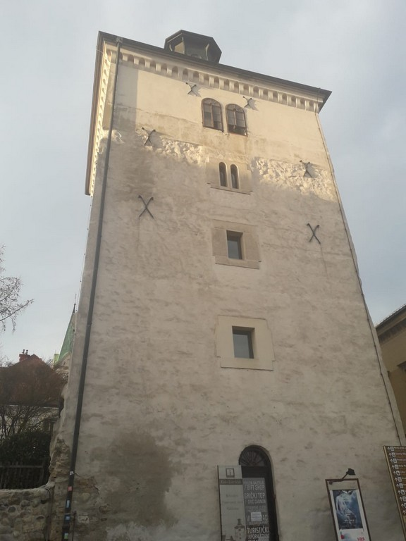 Lotrscak Tower in Zagreb