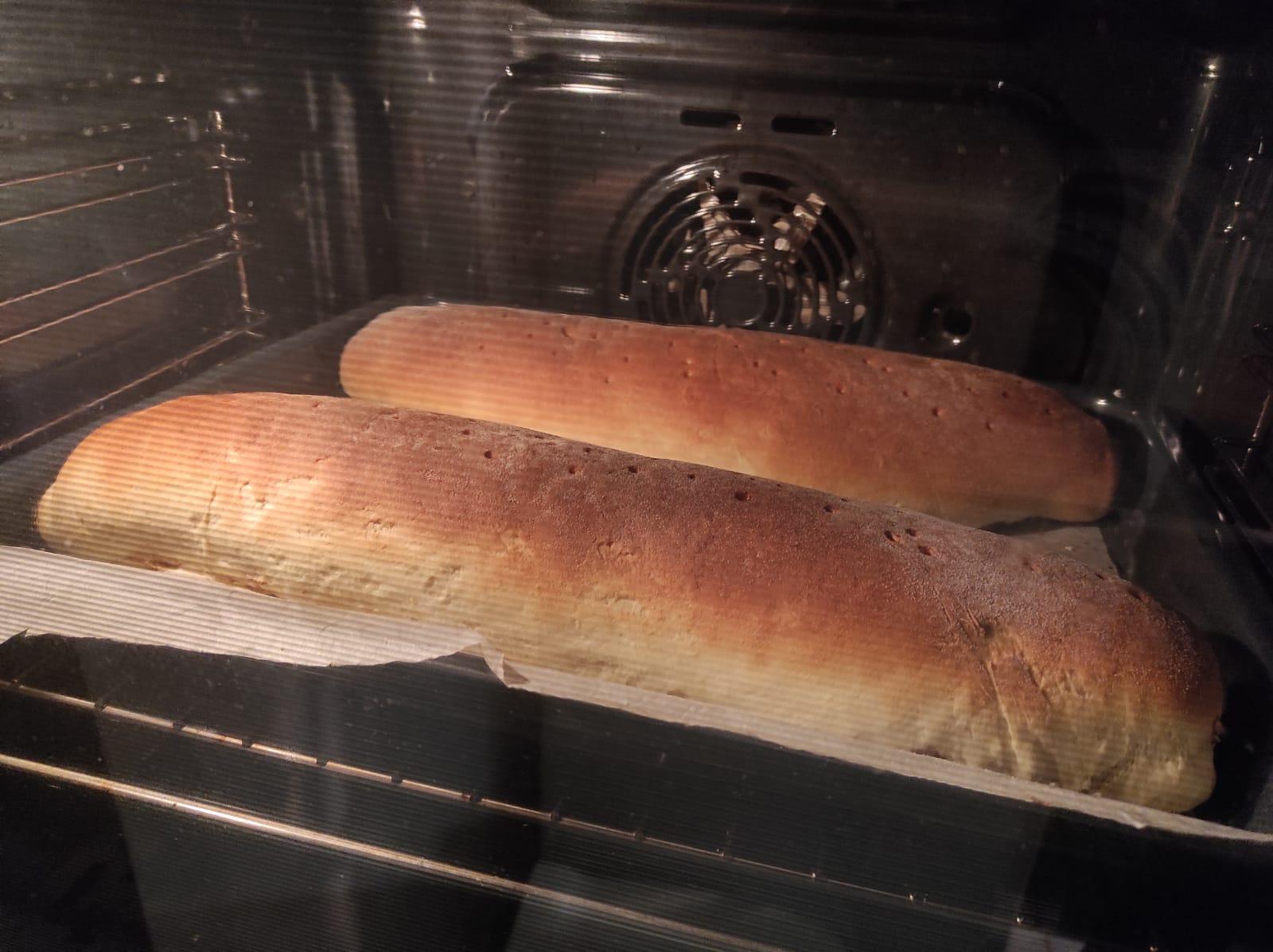 Orahnjaca in the oven