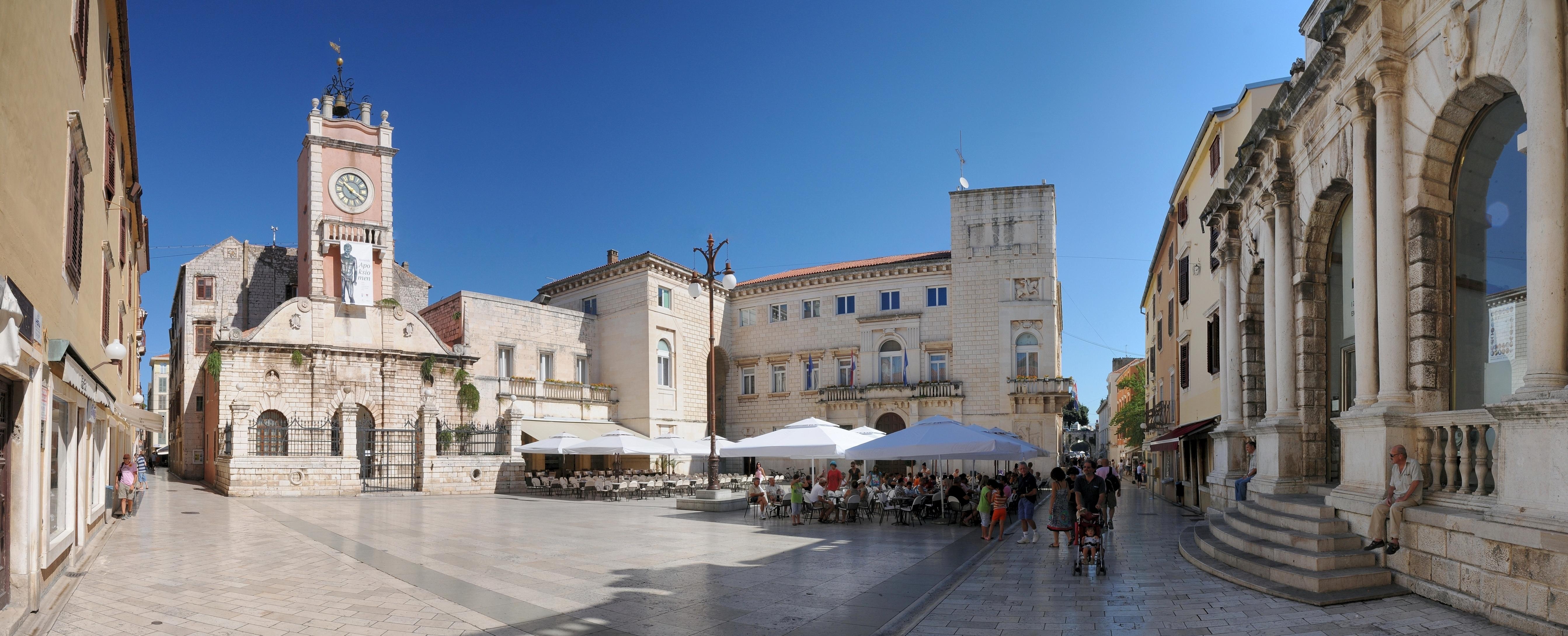 People`s Square, Zadar
