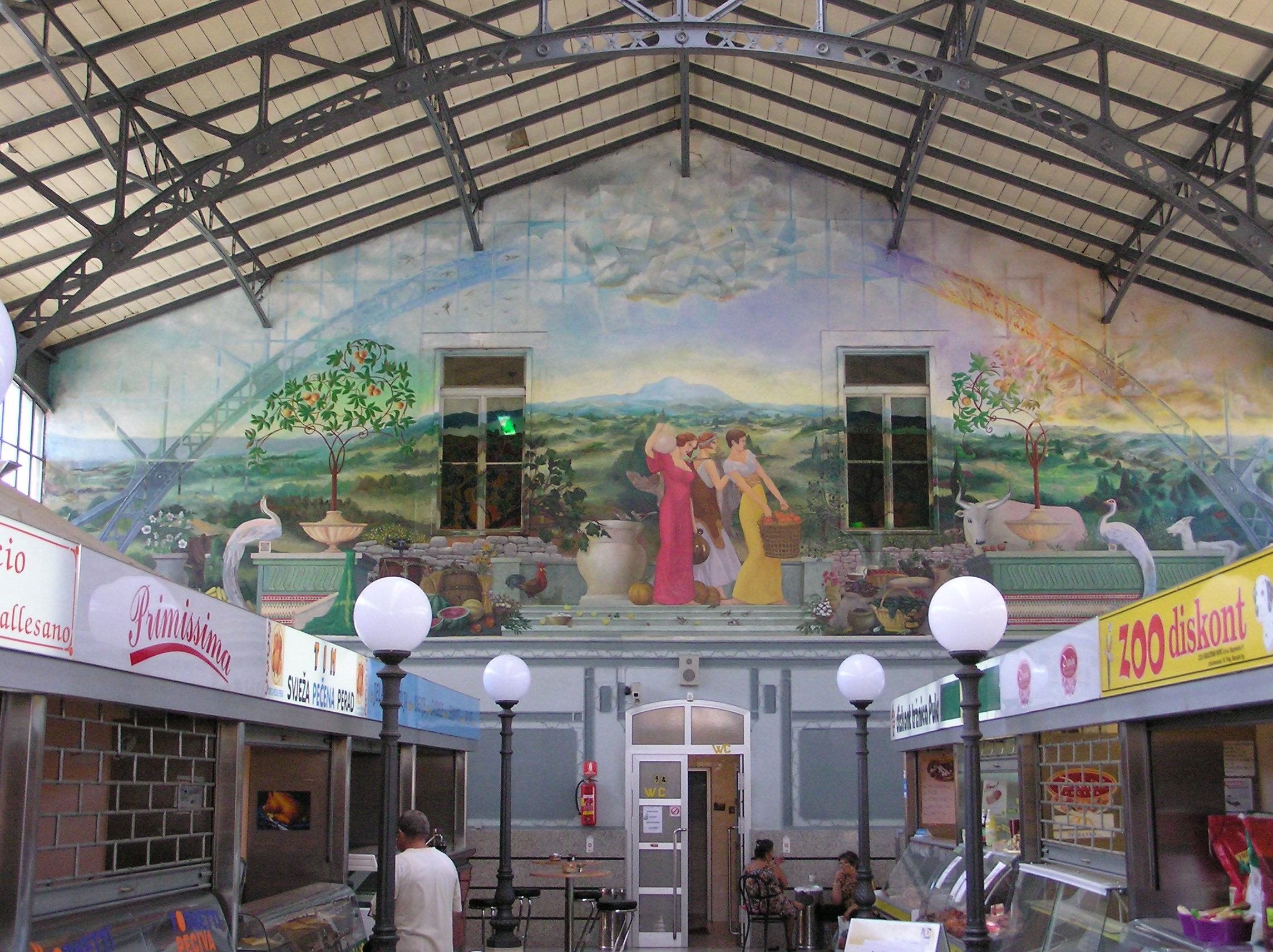 Pula market hall