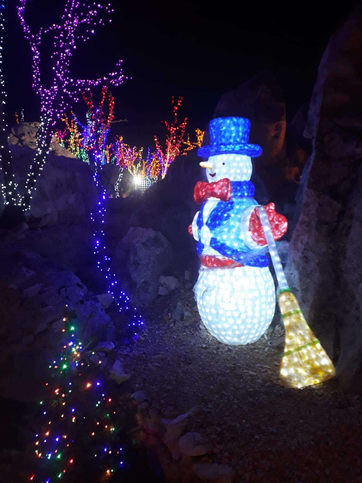 The Snowman in Christmas Village