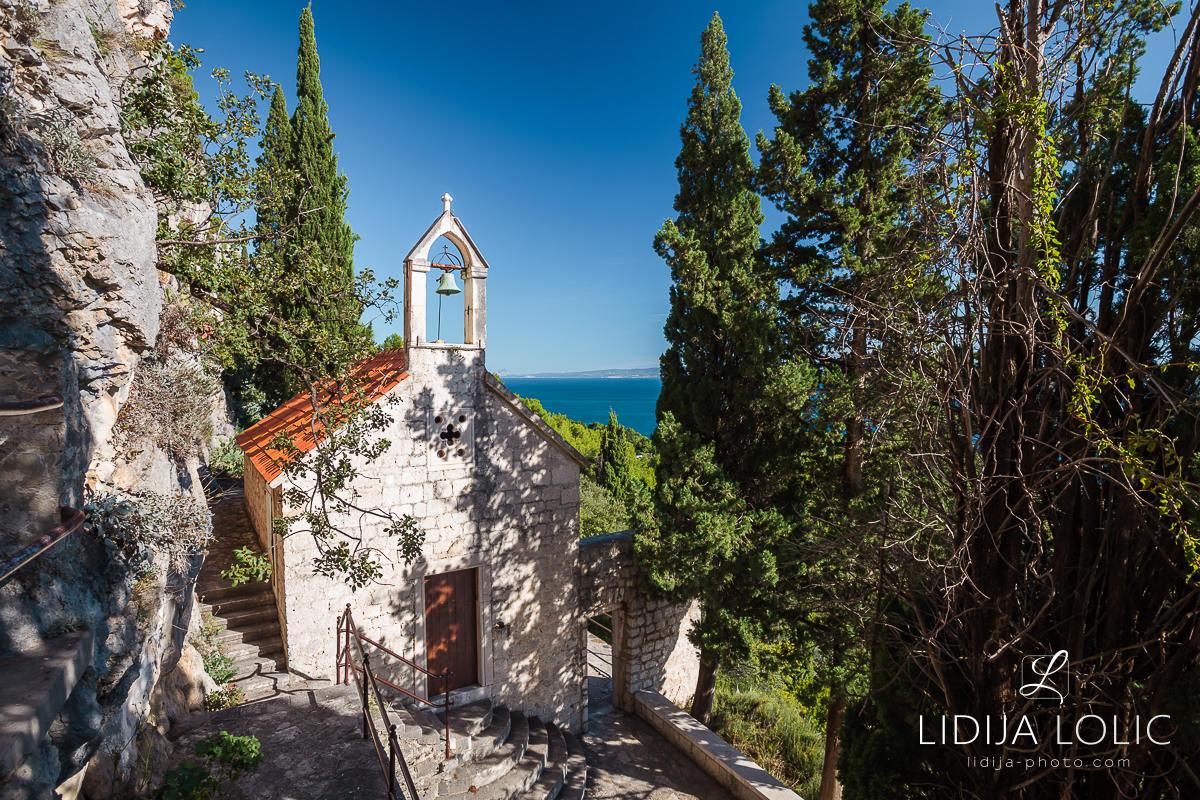 Saint Jerome (Jere) church on Marjan Hill