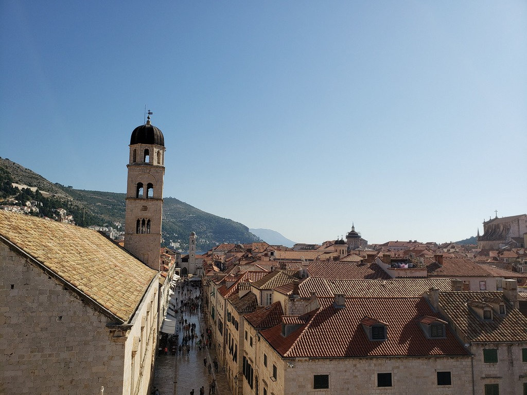 Stradun, the main street of Dubrovnik old town