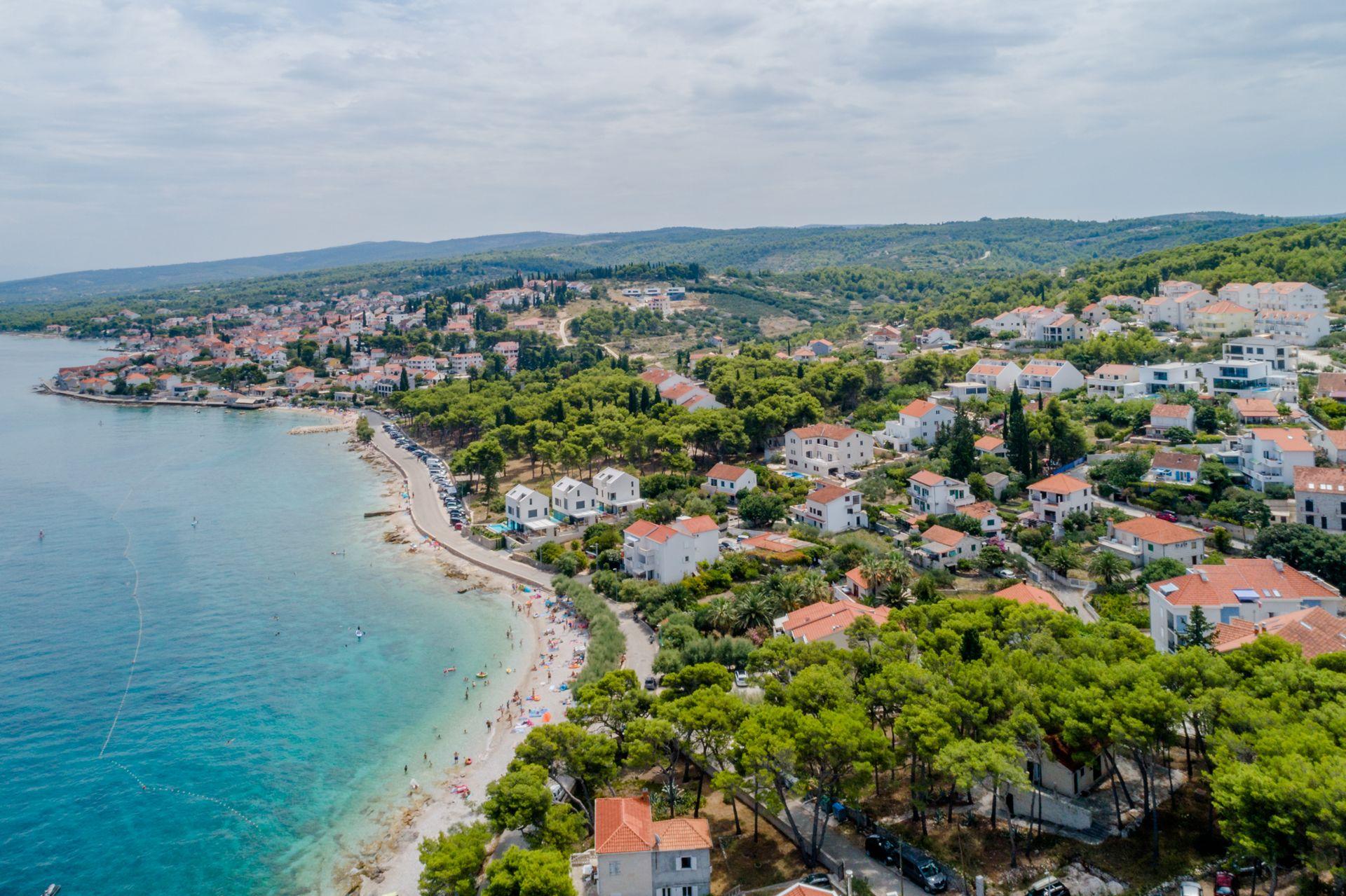 Sutivan Island Brac Croatia from the air