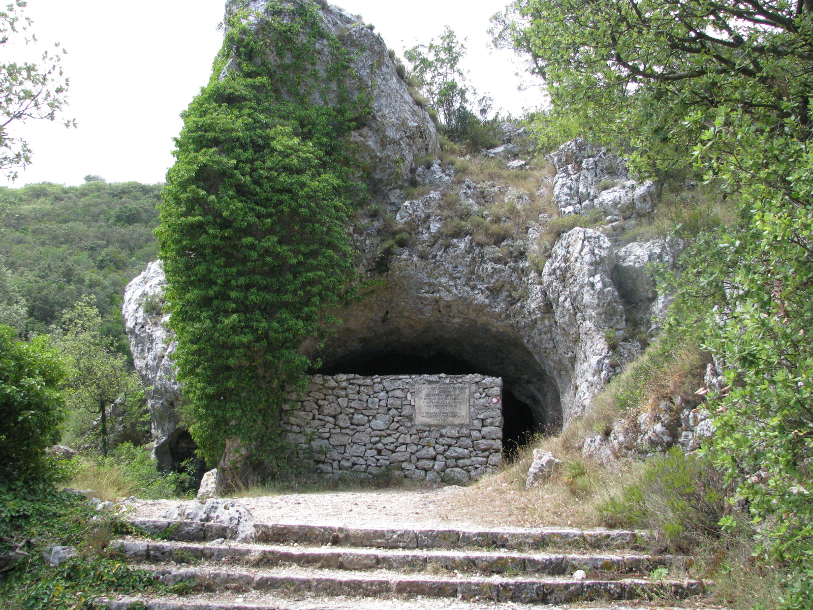 Tito's Cave on island of Vis