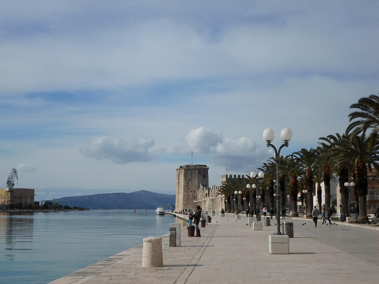 Trogir Waterfront Promenade