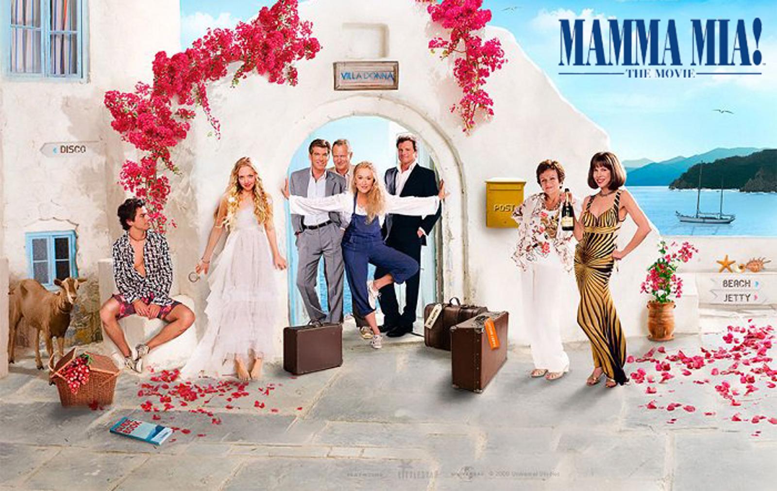 A-list Hollywood stars enjoying  the Adriatic