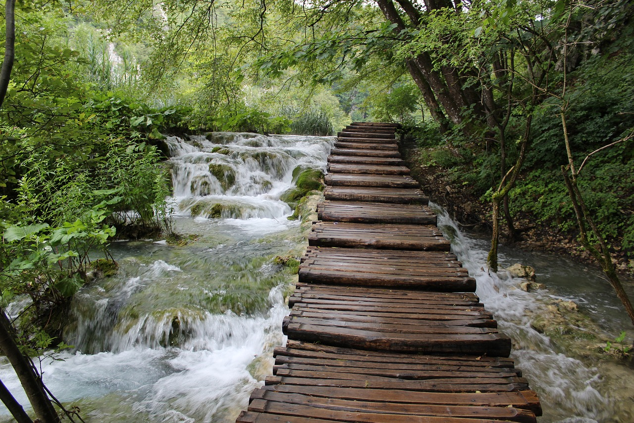 Magical places in Croatia:  No.1  Plitvice Lakes