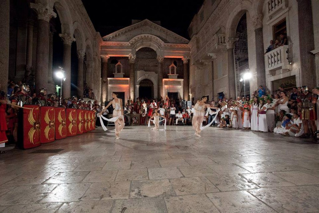 Days of Diocletian in Split Croatia in September