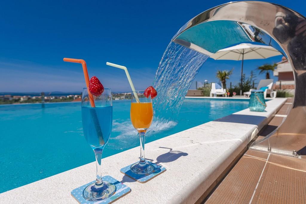 Pool of Villa in Croatia with Early Bird Discount