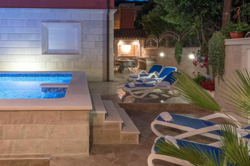Villa Palma in Trogir with Swimming Pool