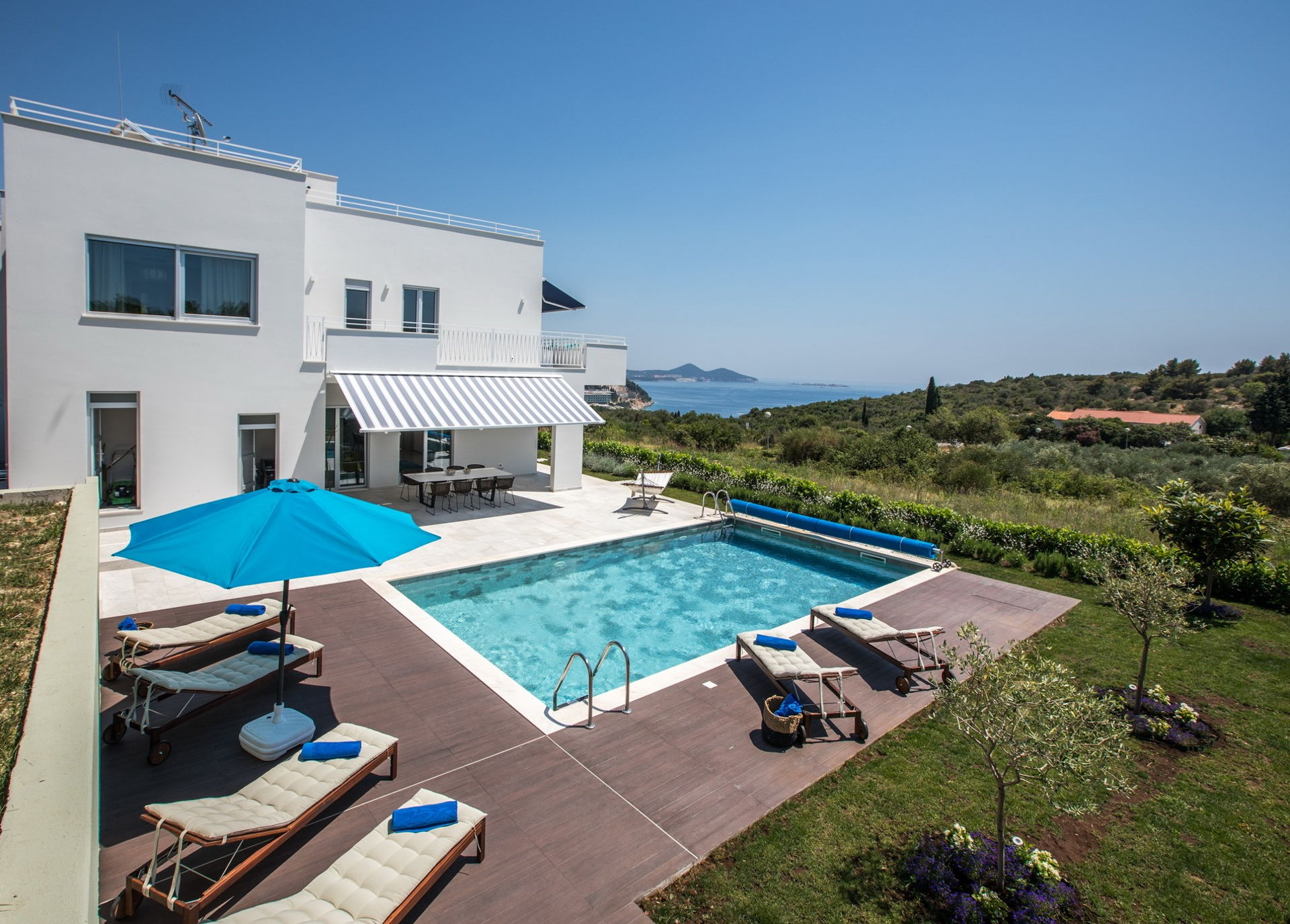 Luxury Villa del Re with Heated Pool