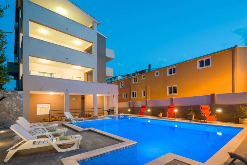 Apartment in Villa Santos with Swimming Pool VII