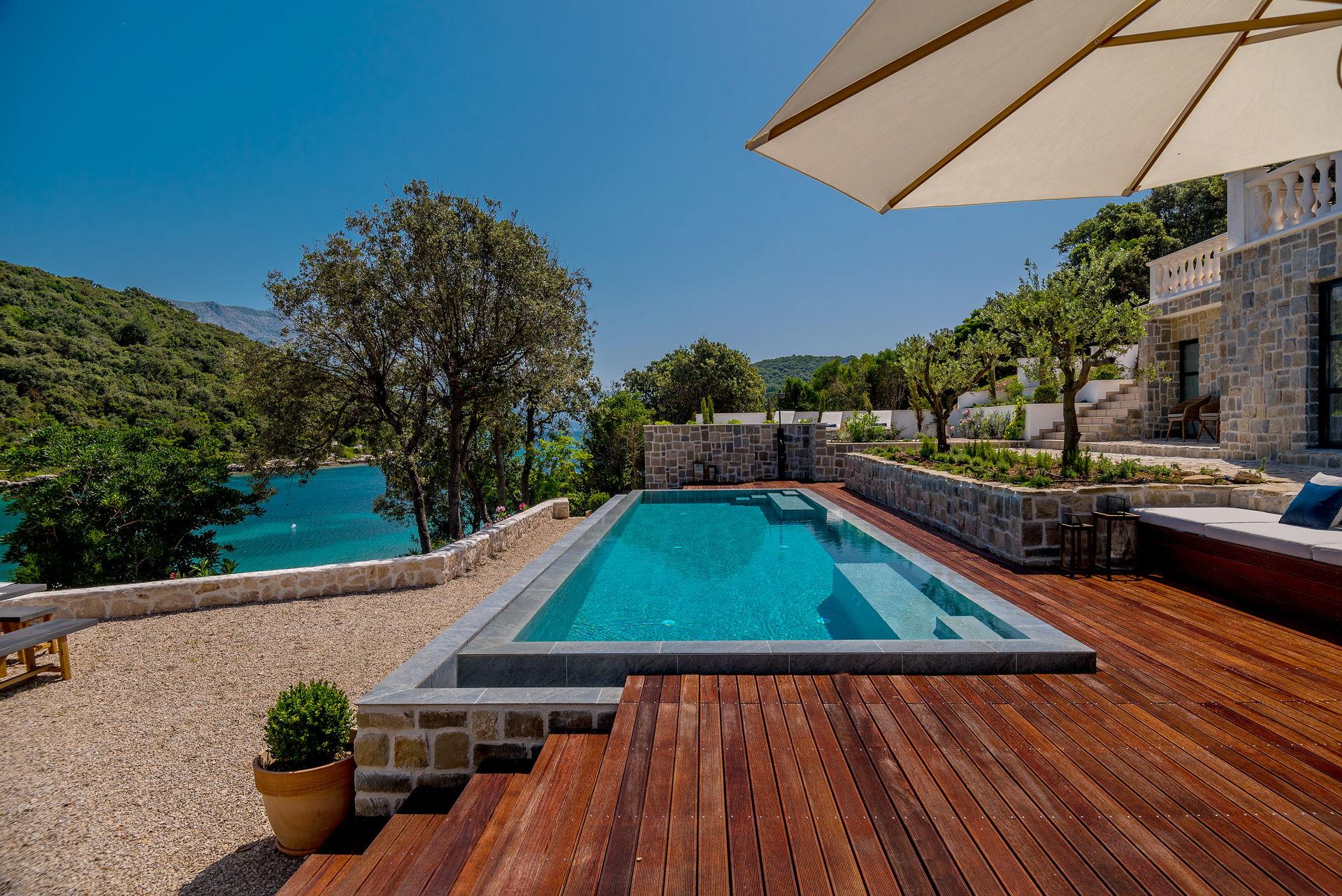 Beachfront Villa Feodora Grande with Pool