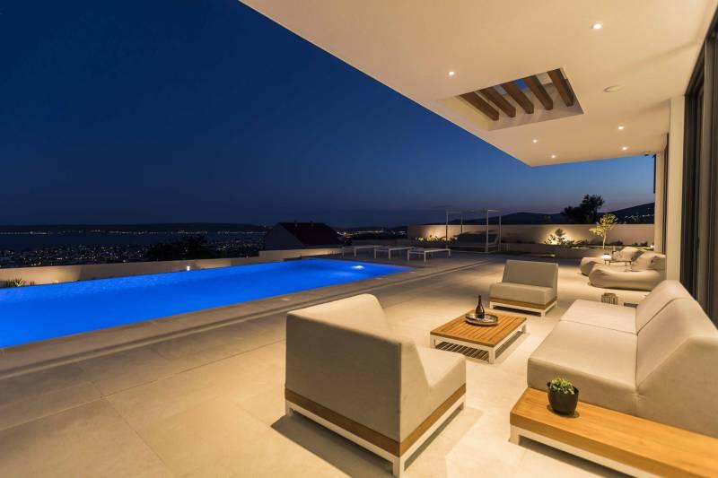 Villa Hedonist with Heated Pool