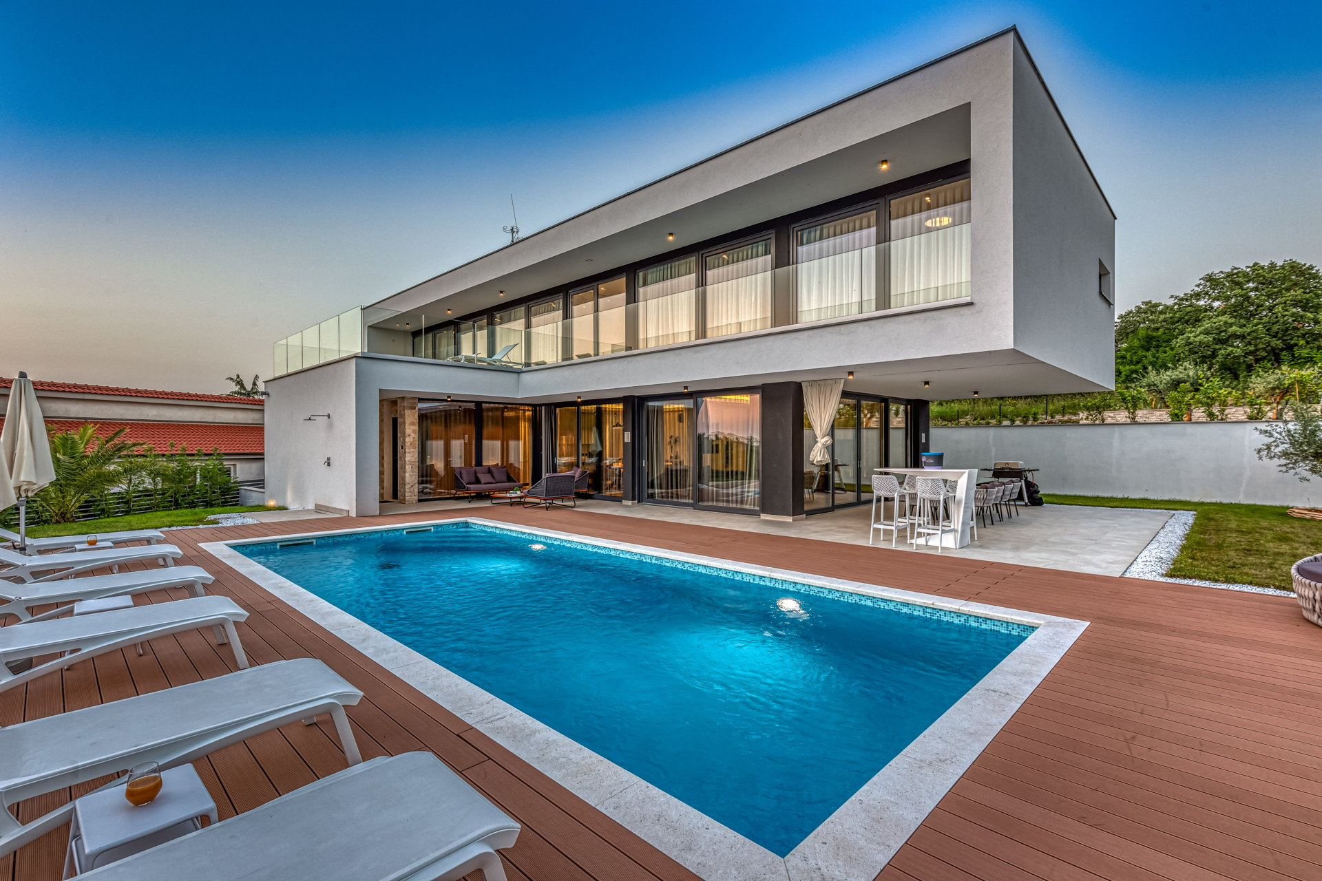 Luxury Villa Rovigno Ultimo with Pool
