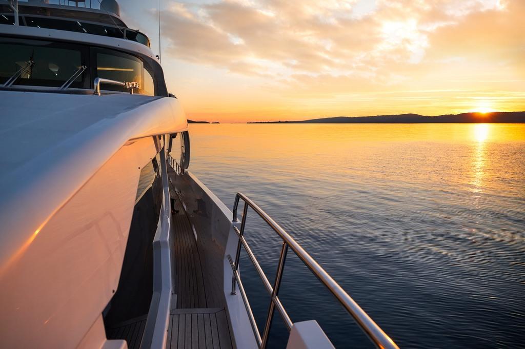 Luxury Yacht Charter in Croatia Benetti Delfino 93