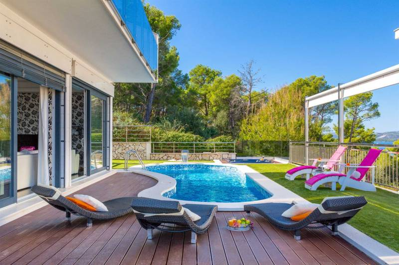Villa Helios of Adria with Pool