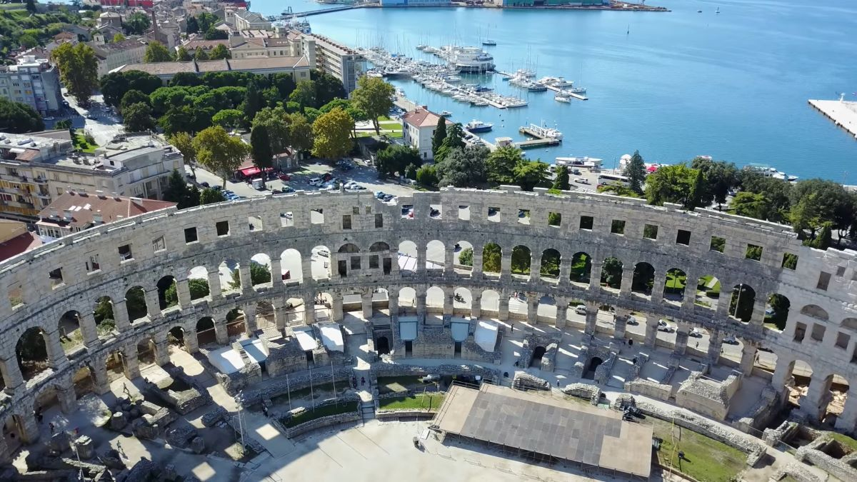 Top 5 historic sites Croatia