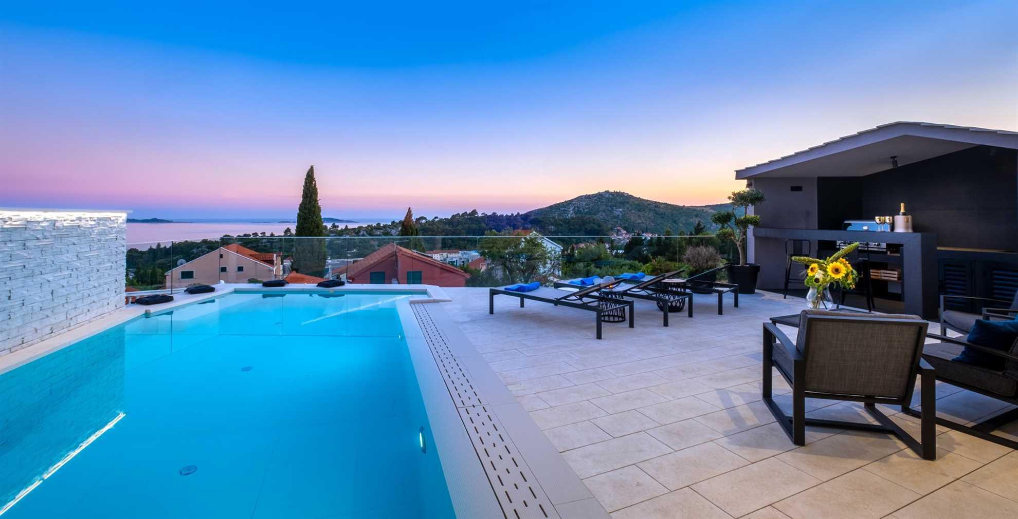 Luxury Villa Elysian with Heated Pool
